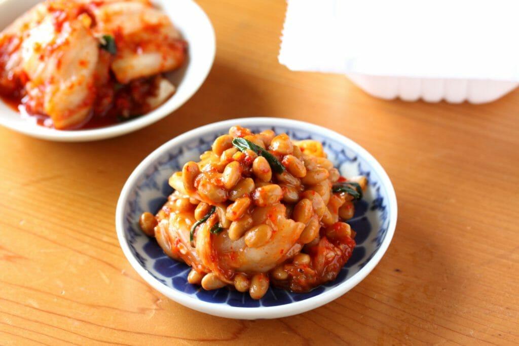 キムチ納豆